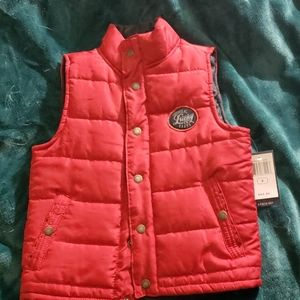 New Lucky Brand Puffy Vest
